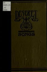 Deseret Sunday School Songs