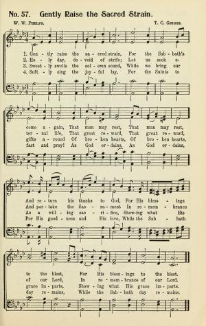 The History of Hymns: Gently Raise the Sacred Strain